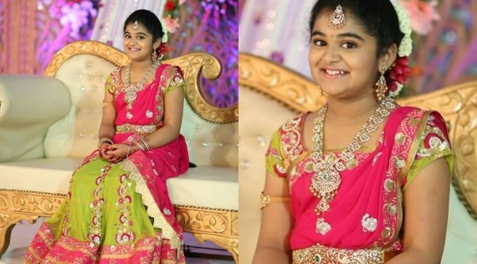 Top10 South Indian Traditional Half Saree designs