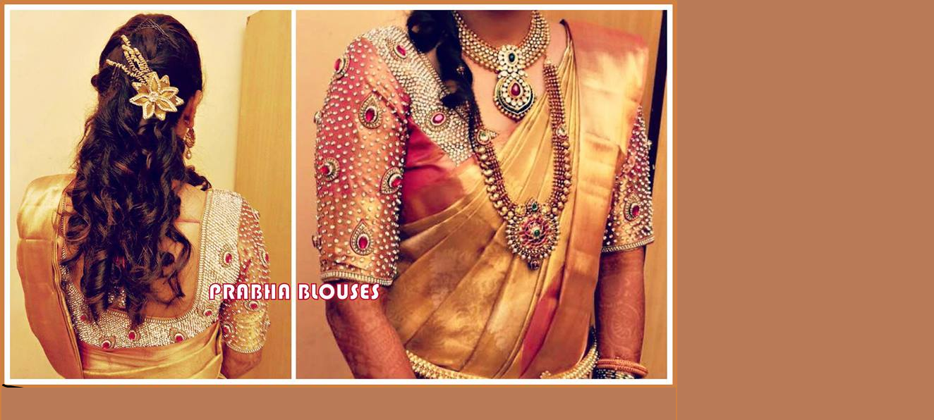 Lehenga blouse design in golden color and mirror work - You Can Also View Briday Blouse Designs Lehanga Voni Designs And One Gram Gold Designs In This Blog