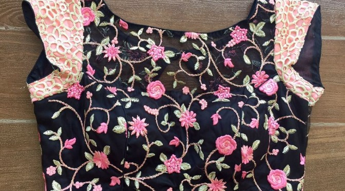 Ready made designer blouses ( Famous Facebook sellers)