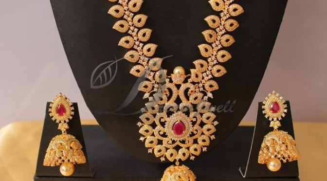 One gram gold jewellery designs