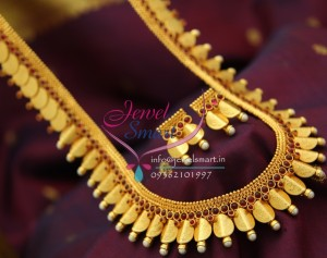 httpwww.jewelsmart.ingold-plated-jewellerynl1854-yellow-gold-plated-temple-traditional-coin-laxmi-god-pendant-haram