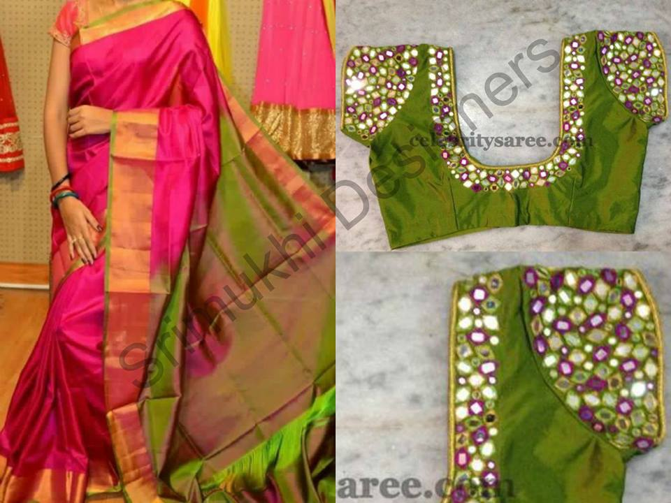 Mirror Work Blouses In Chennai Long Blouse With Pants