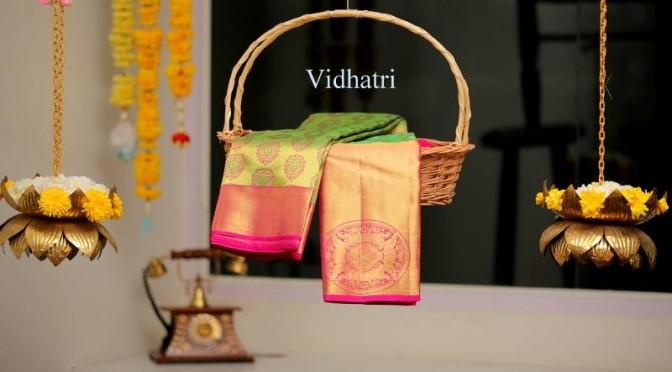 Famous Kanjeevaram sarees- Vidhatri