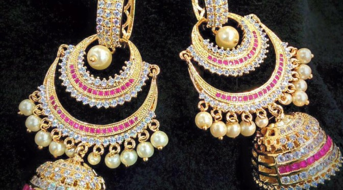 One gram gold designs – Ear rings