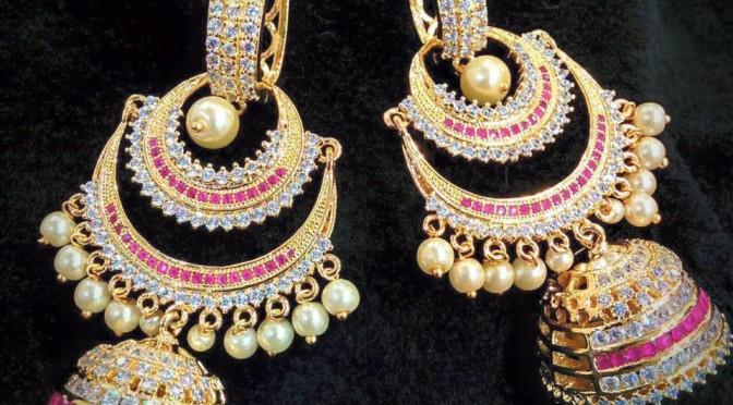 One gram gold designs – Ear rings
