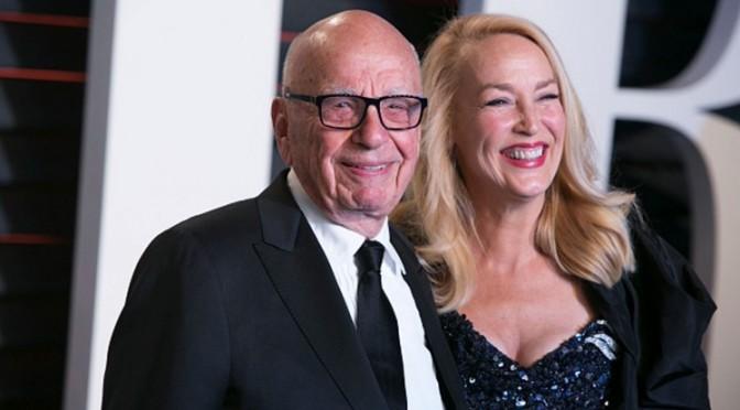 Rupert Murdoch (84 years old ) marries Model Jerry Hall in London