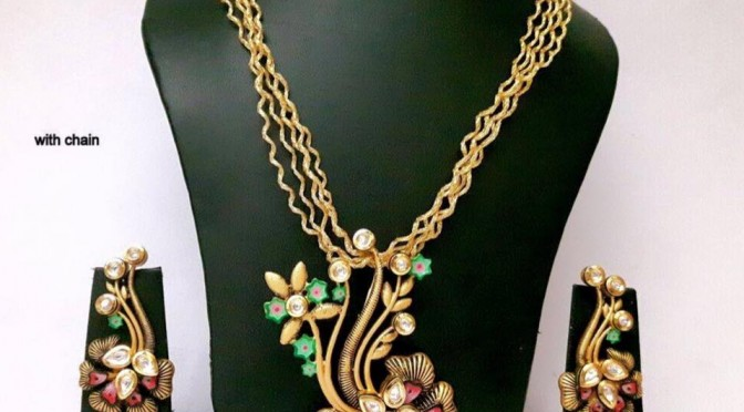 Beautiful One gram gold designs Thread model