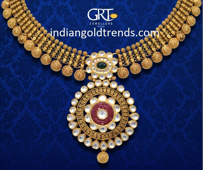 Top kasulaperu necklace designs in Gold | Fashionworldhub