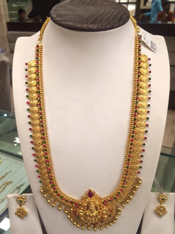 Top kasulaperu necklace designs in Gold | Fashionworldhub