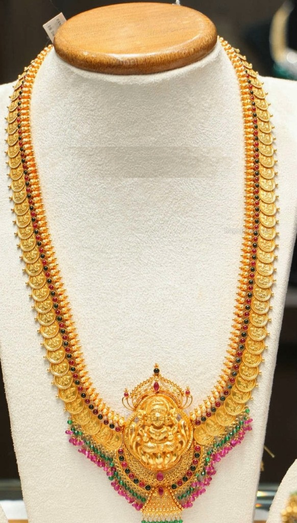 Pearl Jewellery Necklace >> Top kasulaperu necklace designs in Gold | Fashionworldhub