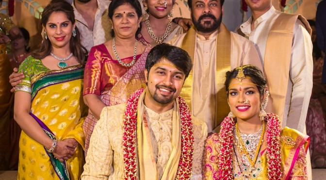 Chirajeevi daughter Sreeja Wedding Videos