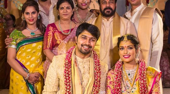 Chirajeevi daughter Sreeja Wedding Videos
