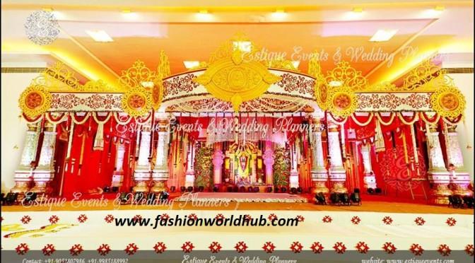 Best Marriage Mandapam , Sangeet and Reception Decoration
