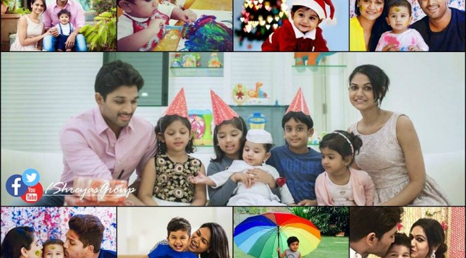Allu Arjun son Ayaan 2nd Birthday photos