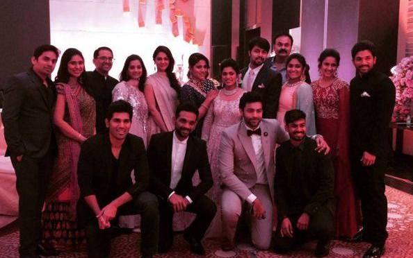 Mega Family Photo on Sreeja Reception