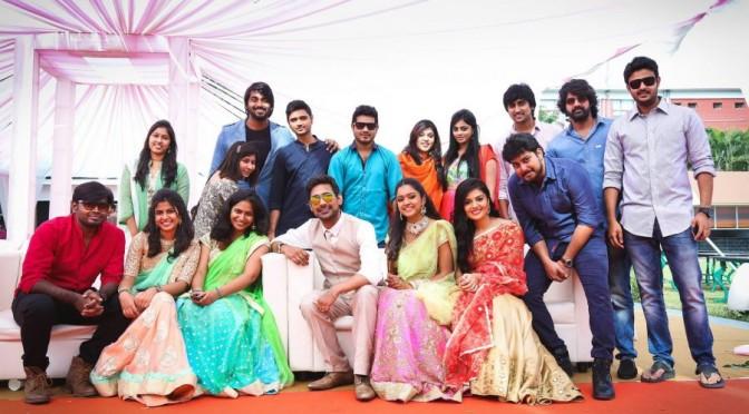 Varun Sandesh and vithika Engagment photos with Celebrities