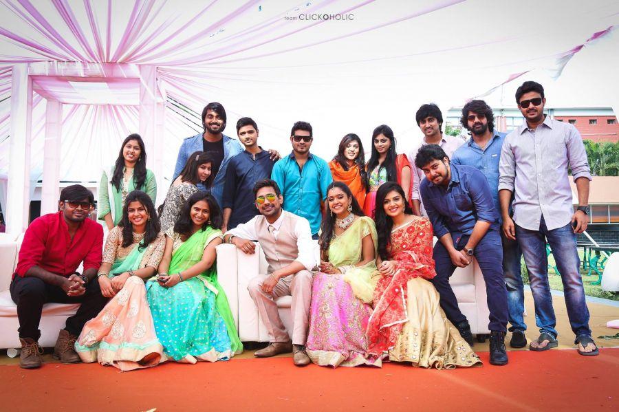 Varun Sandesh and vithika Engagment photos with ...