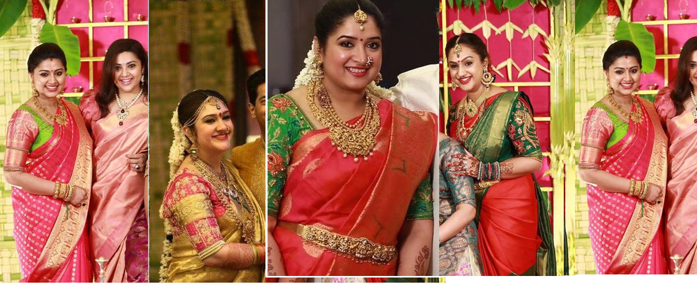 Celebrities in Kanjeevarm Sarees