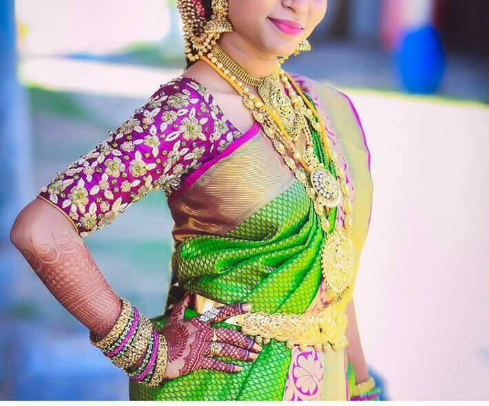 10 Designer Wedding Blouses For Less Than 5000 Rs