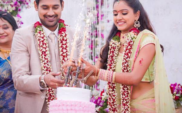 Actor Varun Sandesh and Vithika unseen Engagement photos