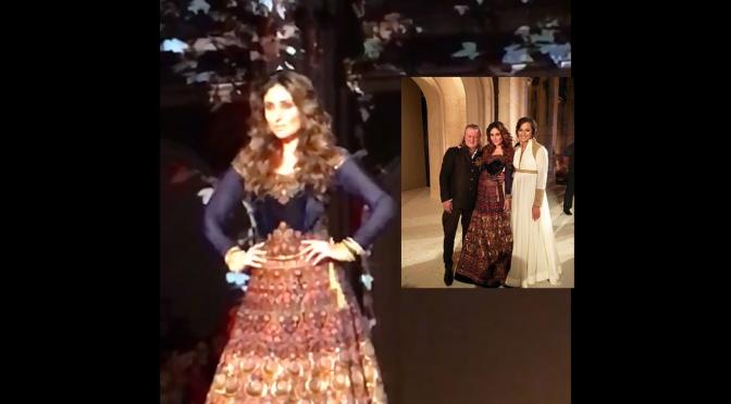 Lakme fashion week -Kareena Kapoor for Rohit Bal