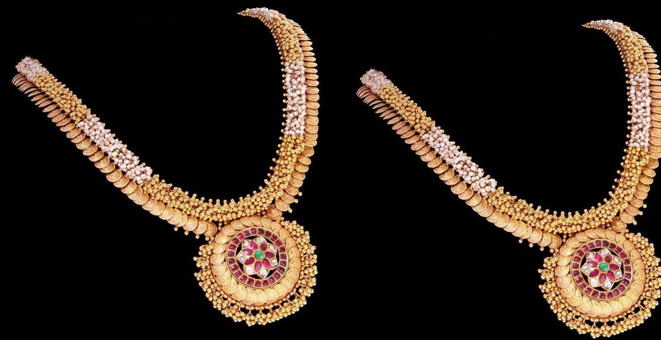 Gold kasulaperu designs which is trending now Designs com