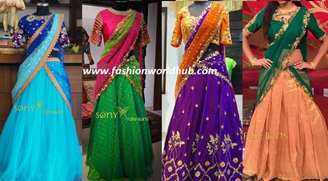 Beautiful Lehanga Honi Collections of Sony Reddy