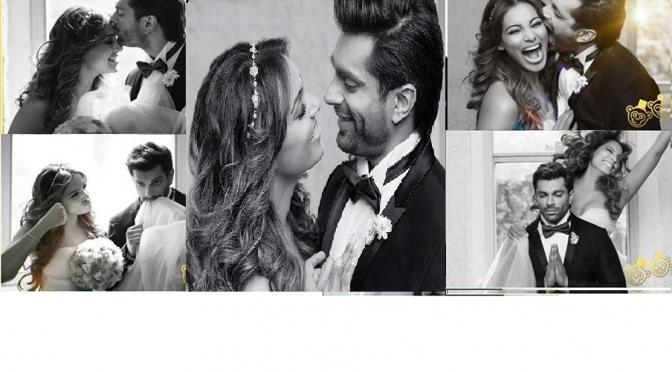 Bipasha Basu-Karan Singh Grover Wedding card & pre wedding shoot