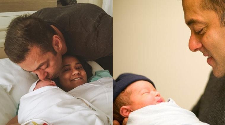 Salman Khan Sister Arpita Khan Blessed With Baby Boy Photo