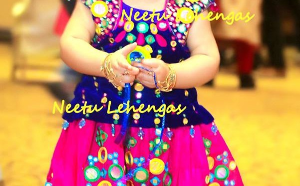 Beautiful lehanga's for Kids