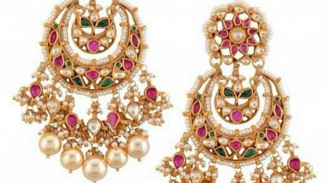 Chandrakala Chandballi Ear rings