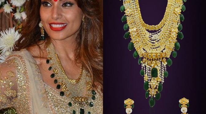 Bipasha Basu Wedding Jewellery (35 layered necklace)