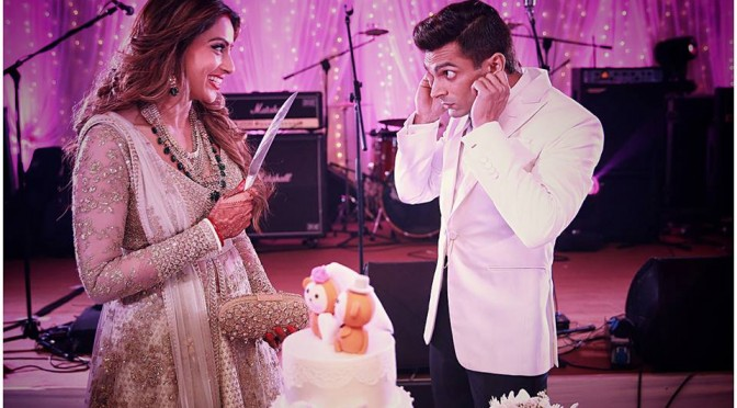 Bipasha basu Mehandi, Wedding and Reception photos.