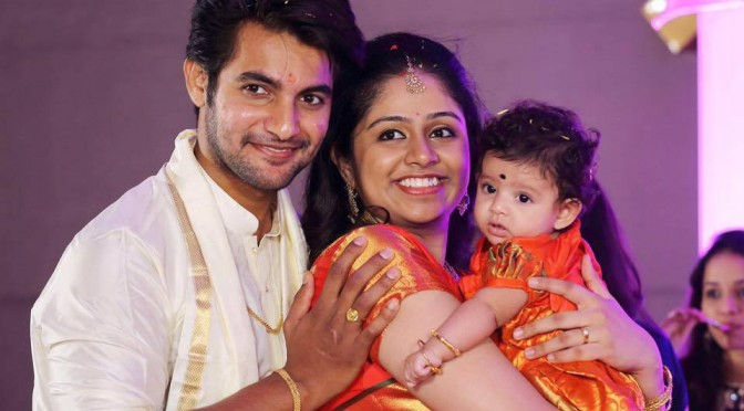 ACTOR AADI DAUGHTER NAMING CEREMONY PHOTOS