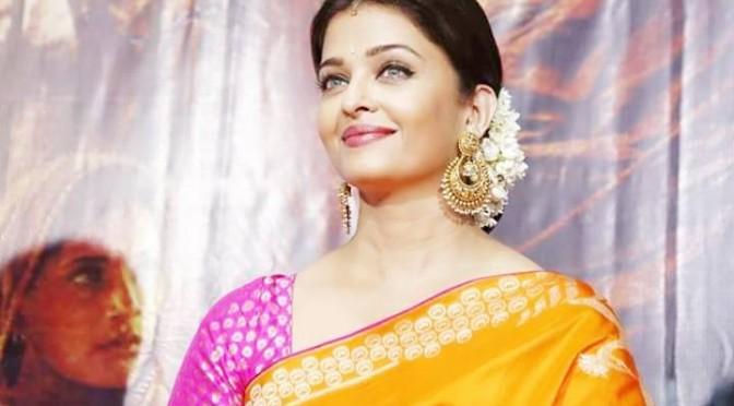 Aishwarya Rai Bachchan in Halfsaree
