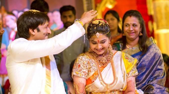 Gopichand & Reshma 3rd Wedding anniversary special