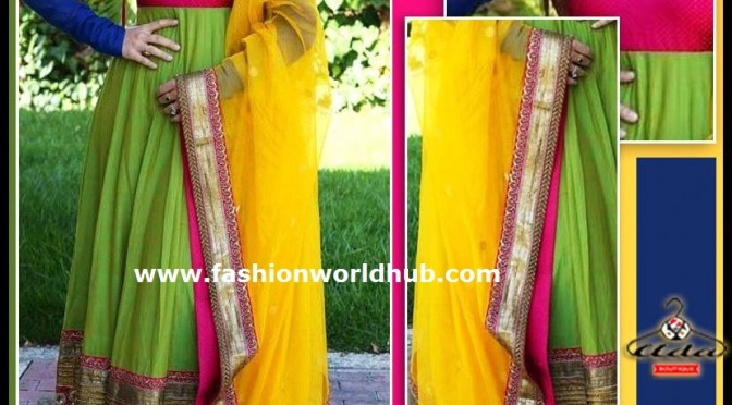Floor Length Anarkali's from Ada boutique store