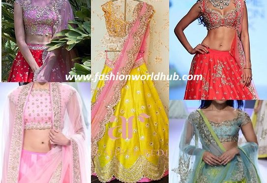 Anushree Reddy Lehanga Collections