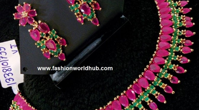 One Gram Gold Necklace – RS 1850