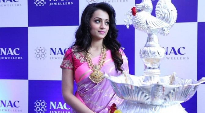 Trisha in NAC Jewellery