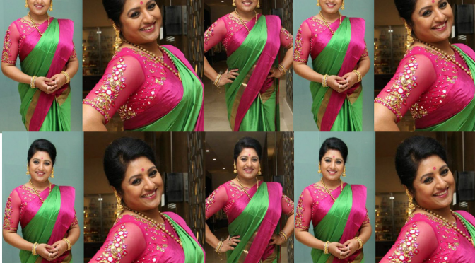 Sana in Traditional wear – Sony Reddy's Couture