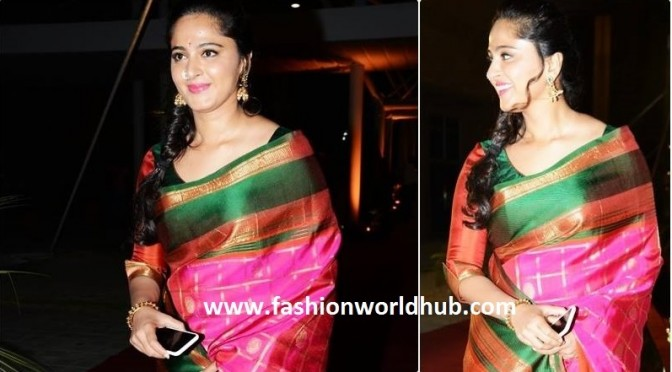 Anushka shetty in Traditional wear