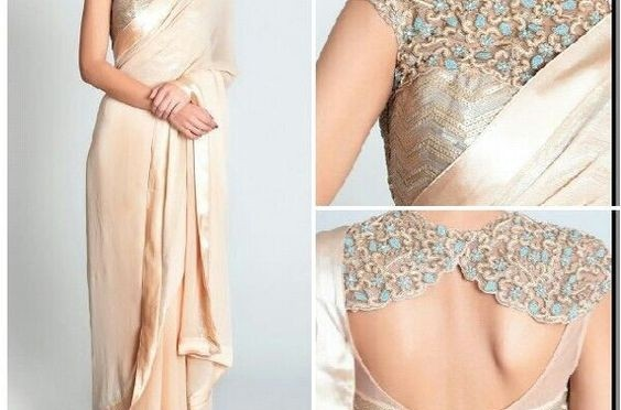 5 Beautiful designer Sarees