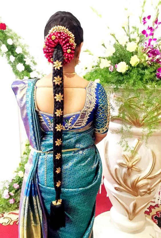 Best South Indian Bridal Hair styles for your Big Day | Fashionworldhub