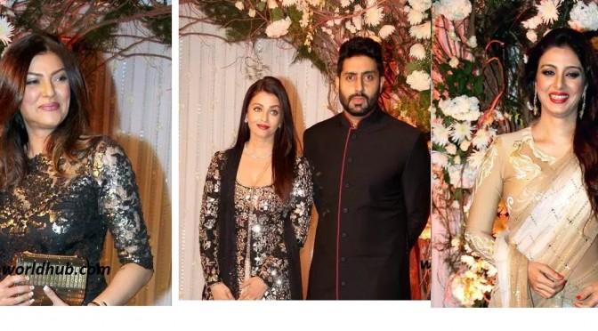 Aishwarya Rai Bachchan and Other Celebrites on Bipasha & karan wedding