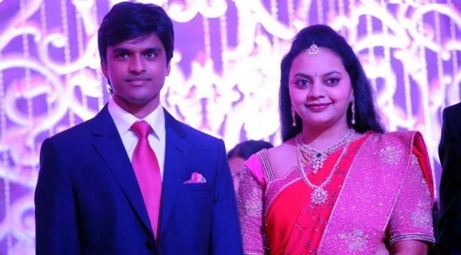 Saikumar Daughter Jyothiramayi in Designer saree.