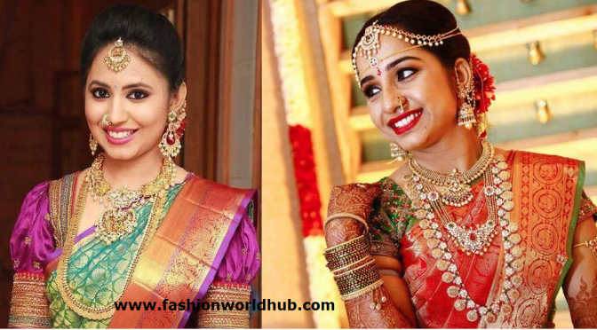Brides in P.Satyanarayan & Sons Jewellery