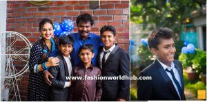 Preethi vijaykumar son birthday photos