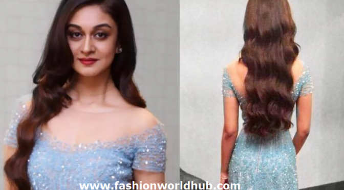 Action king Arjun daughter in Aishwarya in Long frock