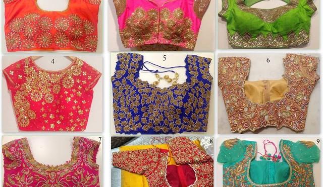 Blouse Designs from Mugha Art studio